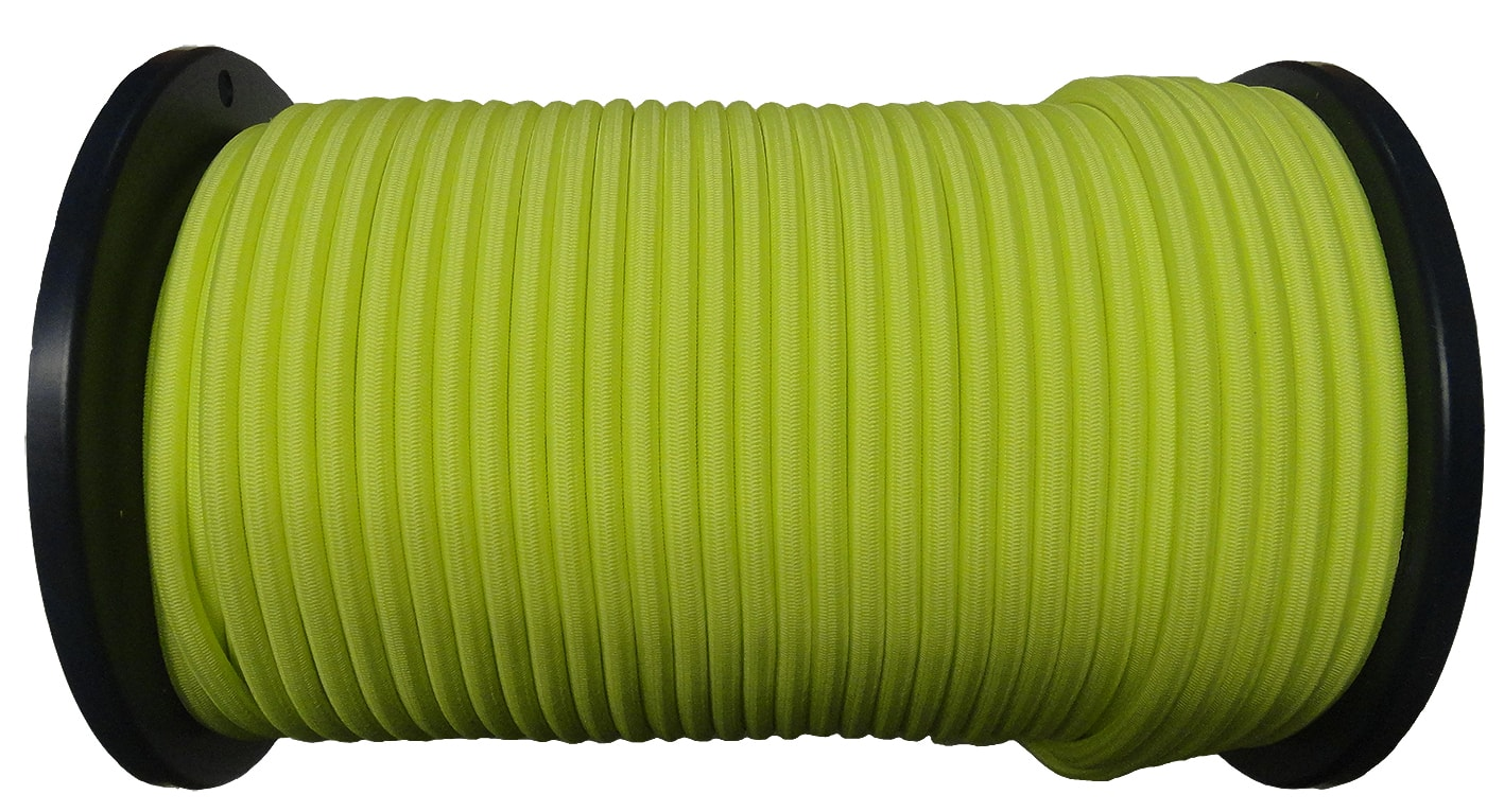 8mm Neon Yellow Bungee Cord
